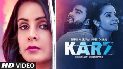 Karz Lyrics – Simar Kaur ft. Inder Chahal   Shiddat
