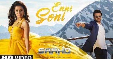 Enni Soni Lyrics Saaho | Guru Randhawa
