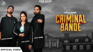 Criminal Bande Lyrics Navv Inder
