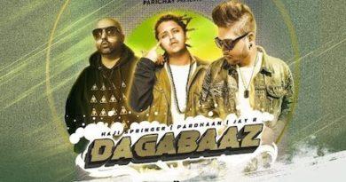 Dagabaaz Lyrics Pardhaan | Haji Springer x Jay R