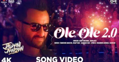 Ole Ole 2.0 Lyrics Jawaani Jaaneman