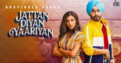 Jattan Diyan Yaariyan Lyrics Gurpinder Panag