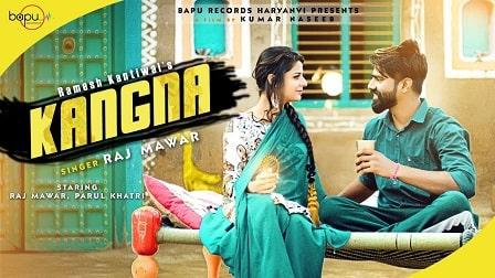 Kangna Lyrics Raj Mawer | Raju Punjabi