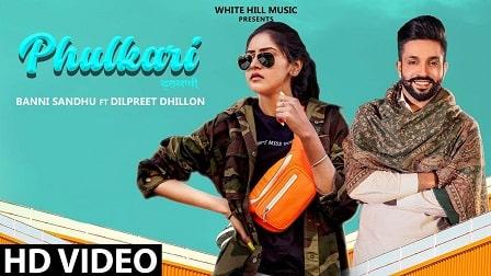 Phulkari Lyrics Baani Sandhu Dilpreet Dhillon