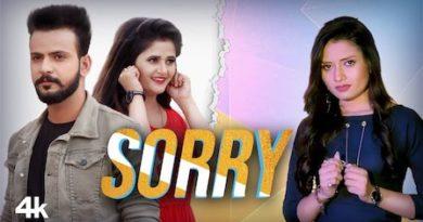 Sorry Lyrics Ruchika Jangid   Anjali Raghav