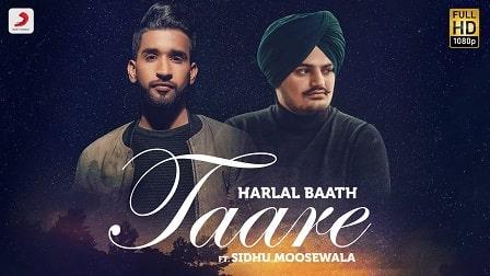 Taare Lyrics Sidhu Moosewala   Harlal Batth