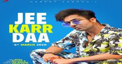 Jee Karr Daa Lyrics - Hardy Sandhu