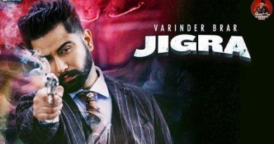Jigra Lyrics Varinder Brar