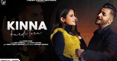 Kinna Kardi Tera Lyrics Khan Saab
