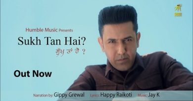 Sukh Tan Hai Lyrics Gippy Grewal