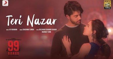 Teri Nazar Lyrics Shashwat Singh