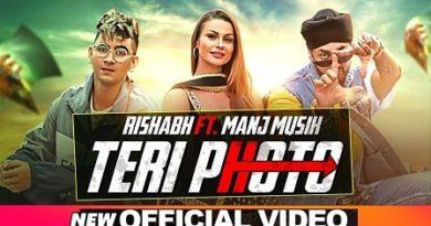 Teri Photo Lyrics Rishabh | Manj Musik