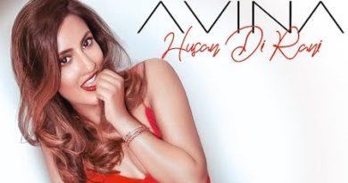 Husan Di Rani Lyrics Avina Shah
