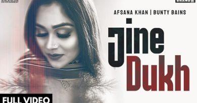 Jine Dukh Lyrics Afsana Khan