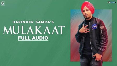 Mulakaat Lyrics Harinder Samra