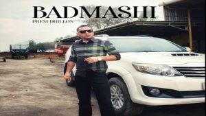 Badmashi Lyrics - Prem Dhillon