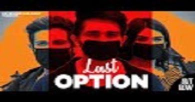Last Option Lyrics Devender Ahlawat
