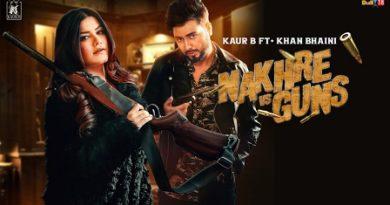 Nakhre vs Guns Lyrics Kaur B | Khan Bhaini