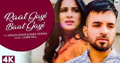 Raat Gayi Baat Gayi Lyrics - Happy Raikoti x Afsana Khan