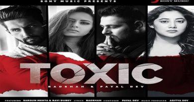 Toxic Lyrics - Payal Dev & Badshah