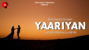 Yaariyan Lyrics Mamta Sharma
