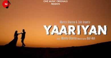 Yaariyan Lyrics Mamta Sharma