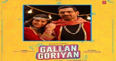 Gallan Goriyan Lyrics- Dhvani Bhanushali