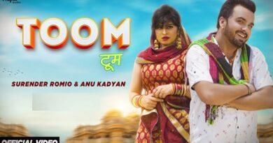 Toom Lyrics - Surender Romio | Anu Kadyan