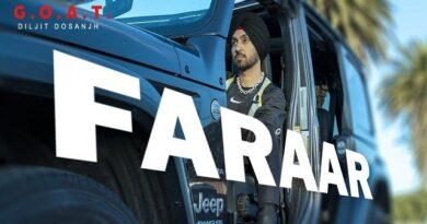Faraar Lyrics - Diljit Dosanjh | G.O.A.T.
