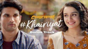 Khairiyat Lyrics - Chhichhore   Sushant Singh