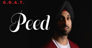 Peed Lyrics - Diljit Dosanjh | G.O.A.T