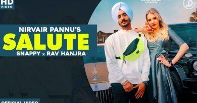 Salute Lyrics by Nirvair Pannu