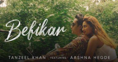 Befikar Lyrics Tanzeel Khan | Aashna Hegde