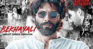 Bekhayali Lyrics - Kabir Singh  Arijit Singh