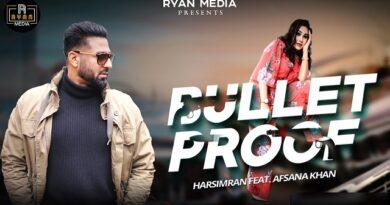 Bulletproof Lyrics - Harsimran | Afsana Khan
