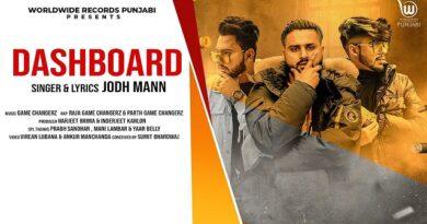 Dashboard Lyrics - Jodh Mann | Raja Game Changerz