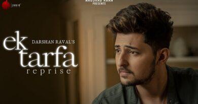 Ek Tarfa Lyrics (Reprise) - Darshan Raval