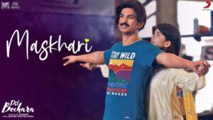 Maskhari Lyrics - Dil Bechara
