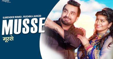 Musse Lyrics - Surender Romio | Ruchika Jangid