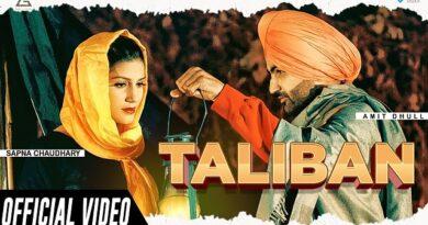 Talibaan Lyrics - Amit Dhull