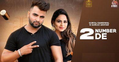 2 Number De Lyrics Guntaj Dandiwal | Gurlez Akhtar