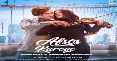 Afsos Karoge Lyrics - Stebin Ben | Asim Riaz