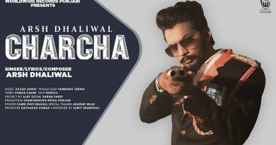 Charcha Lyrics - Arsh Dhaliwal