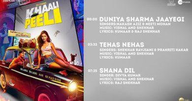 Shana Dil Lyrics Khaali Peeli | Divya Kumar