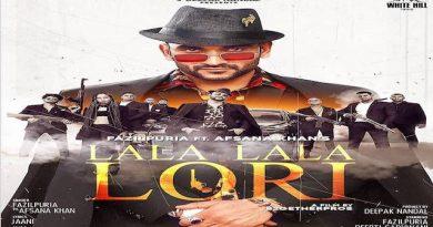 Lala Lala Lori Lyrics Fazilpuria | Afsana Khan