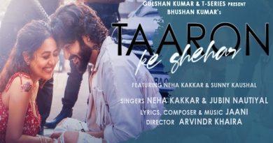 Taaron Ke Shehar Lyrics Jubin Nautiyal x Neha Kakkar
