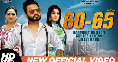 60-65 Lyrics Harpreet Dhillon   Gurlej Akhtar