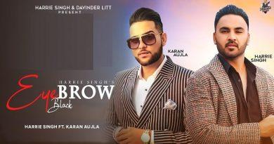 Eyebrow Black Lyrics Harrie Singh | Karan Aujla