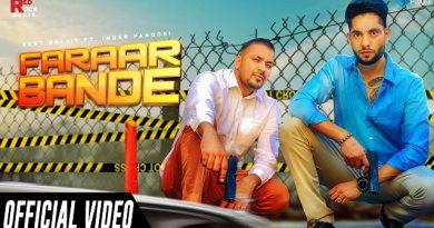 Faraar Bande Lyrics Veet Baljit | Inder Pandori