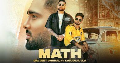 Math Lyrics Karan Aujla | Daljeet Chahal